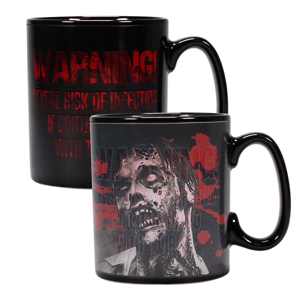 Resident Evil Heat Change Mug Zombie