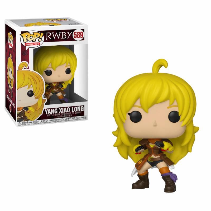 RWBY POP! Animation Vinyl Figure Yang Xiao Long 9 cm