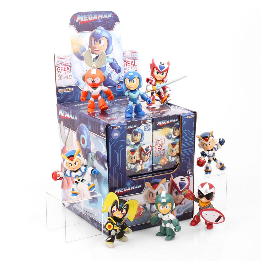 Mega Man Action Vinyl Mini Figures 8 cm WM Display (12)
