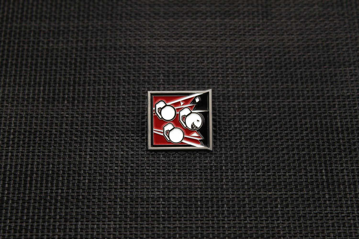 Six Collection Pin Badge Operator Icon Fuze