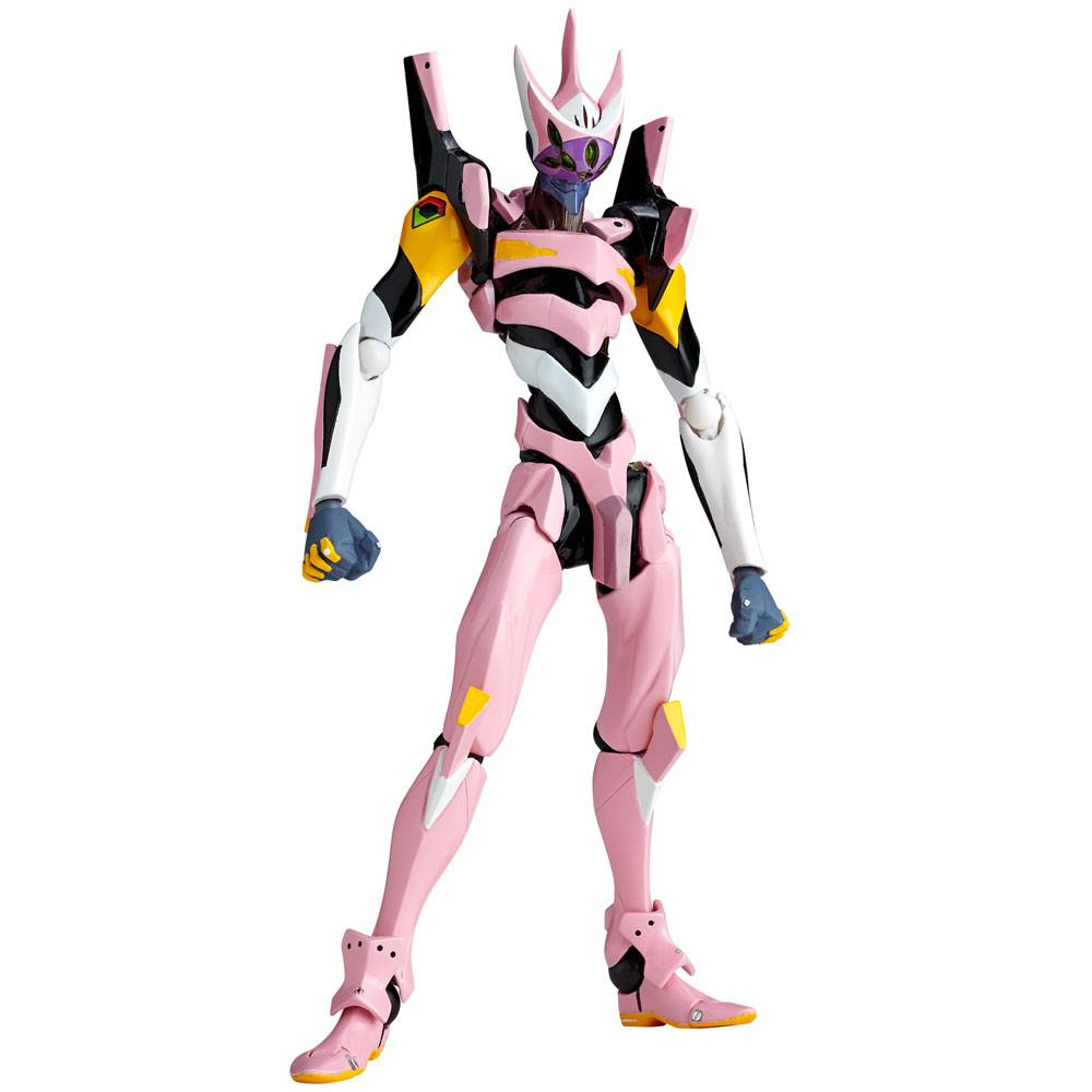 Evangelion Evolution Action Figure Revoltech EV-012 Evangelion Production Model Custom Type 08 14 cm