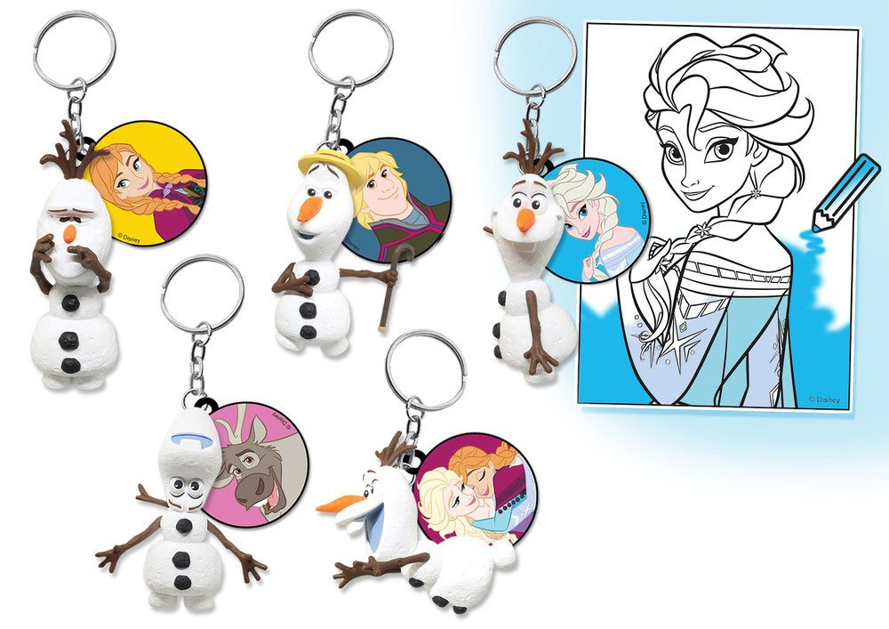 Frozen Danglers Keychains Mystery Bags Display (12)