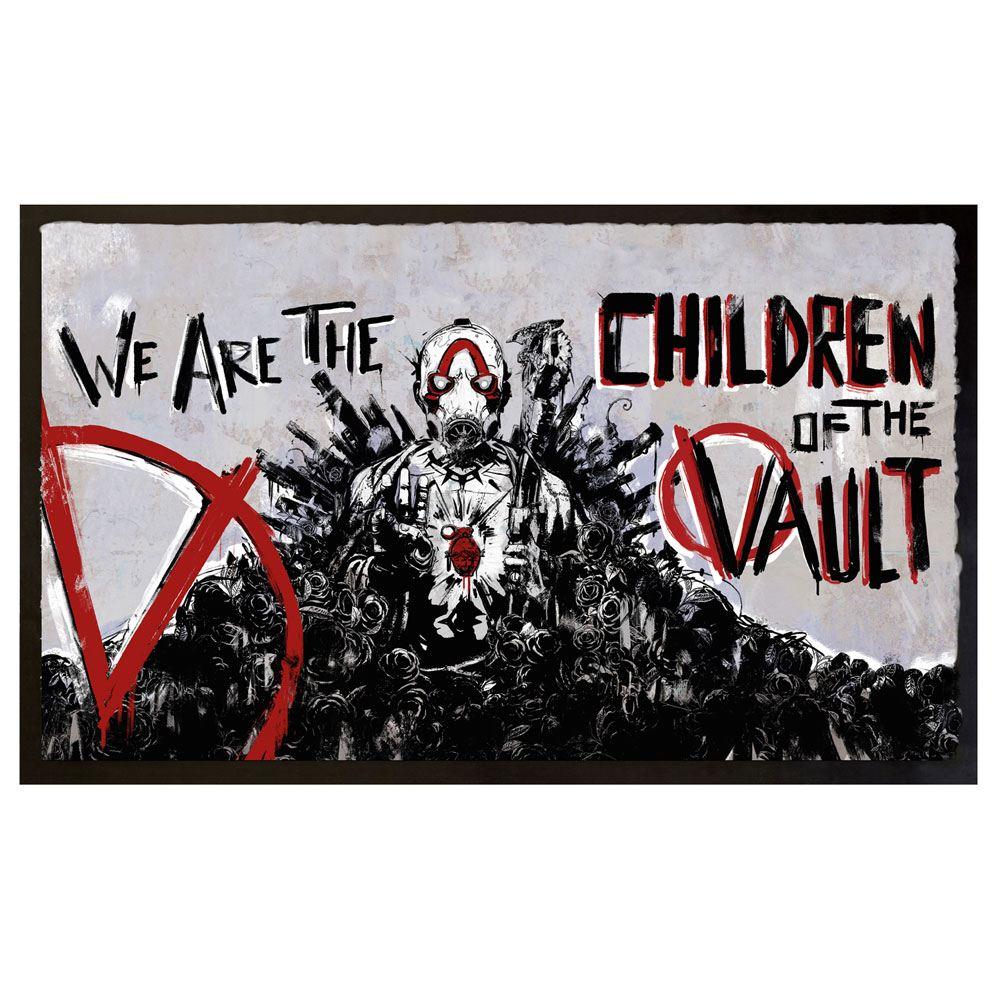 Borderlands 3 Doormat Children Of The Vault 80 x 50 cm