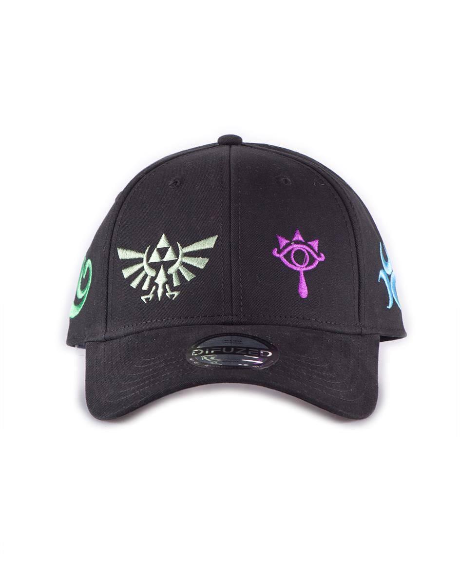 Legend of Zelda Baseball Cap Color Symbols