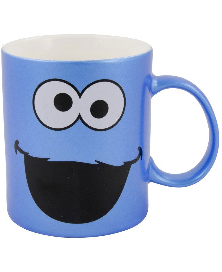 Sesame Street Mug Cookie Metallic