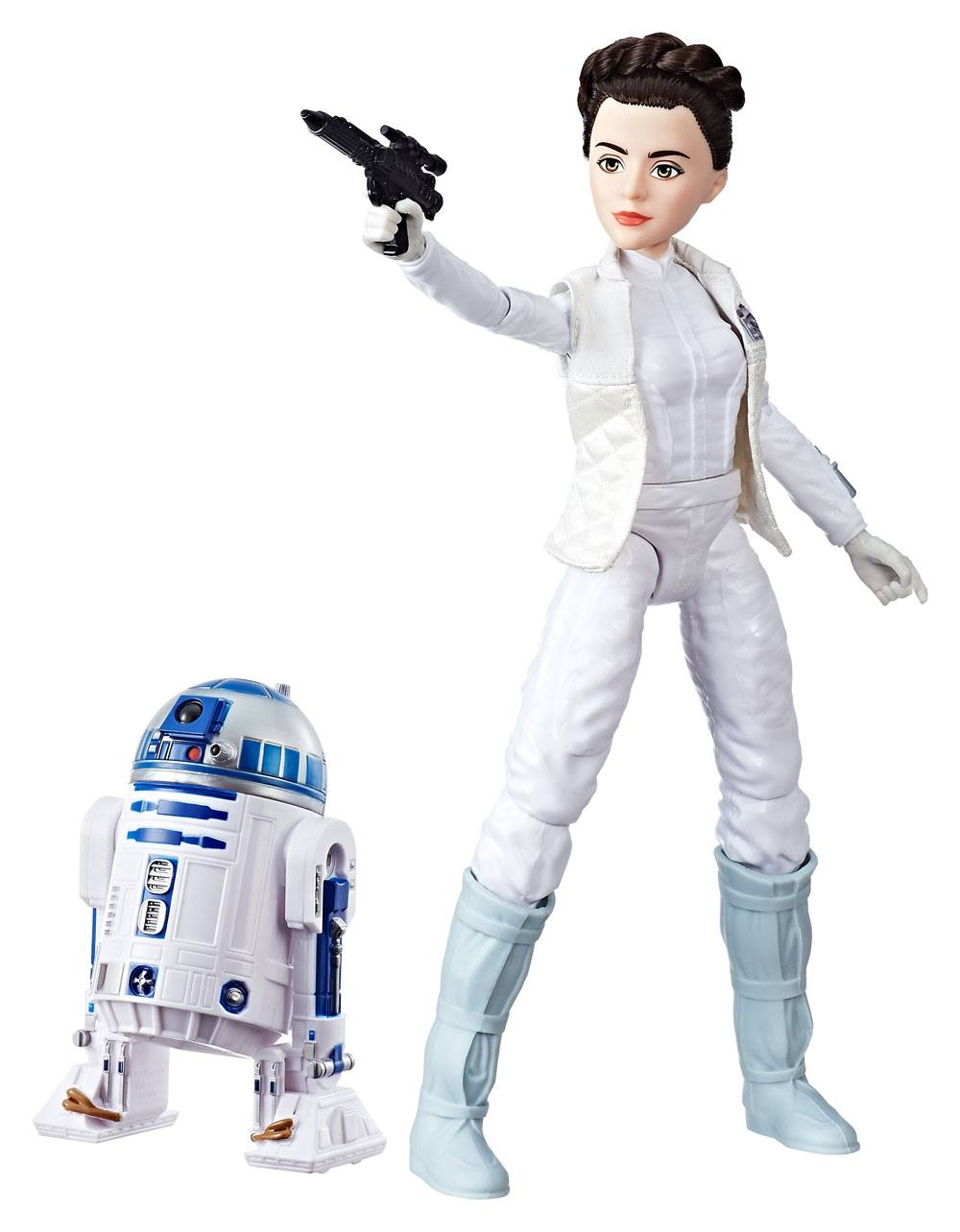 Star Wars Forces of Destiny Action Figure 2-Pack 2017 Princess Leia Organa & R2-D2 28 cm