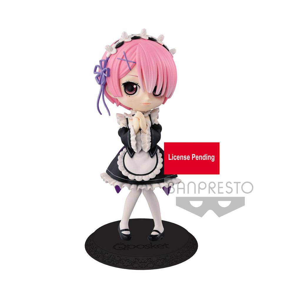 Re: Zero Starting Life in Another World Q Posket Mini Figure Ram Ver. A 14 cm