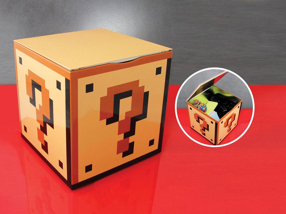Super Mario Bros. Storage Tin Question Block