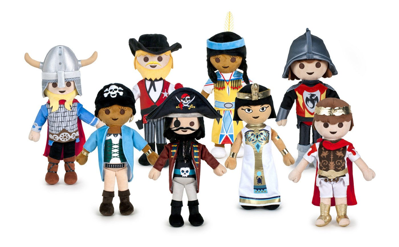 Playmobil Plush Figures 30 cm Wave 2 Assortment (16)