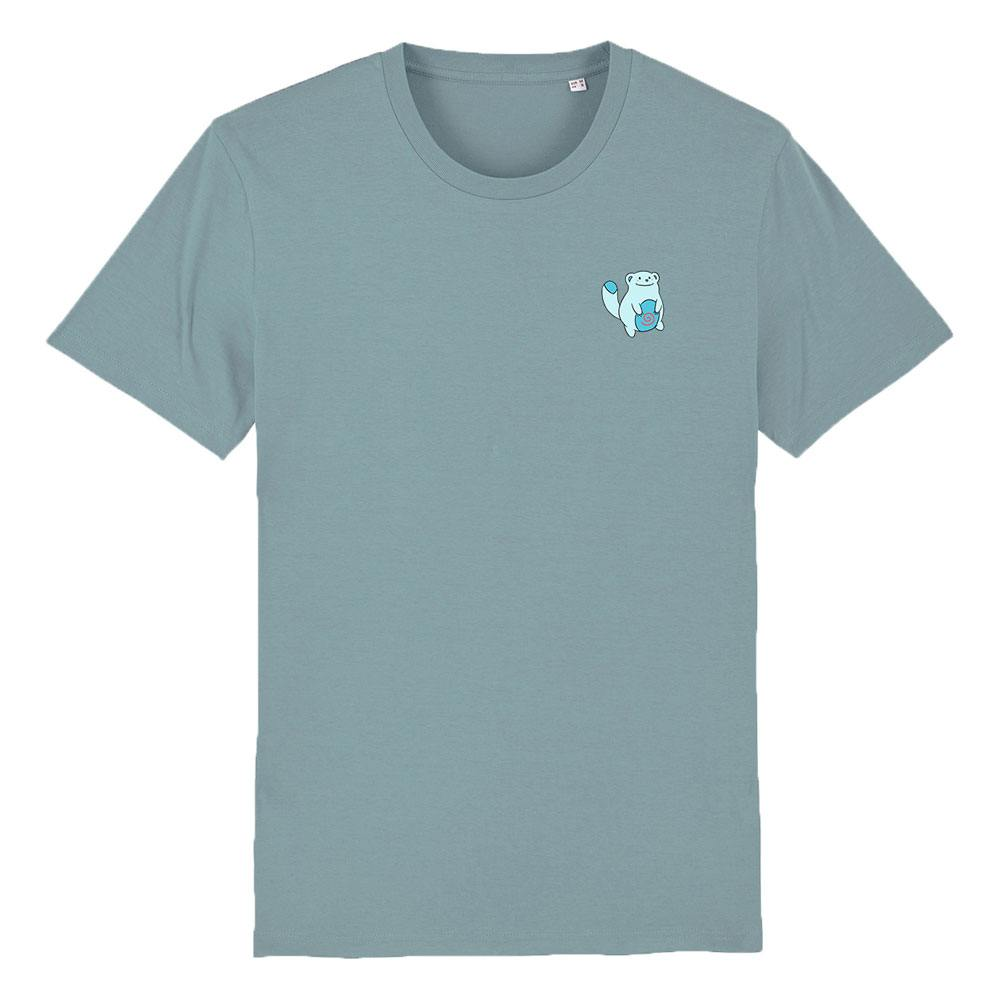 Biomutant T-Shirt Vending Machine Blue Size L