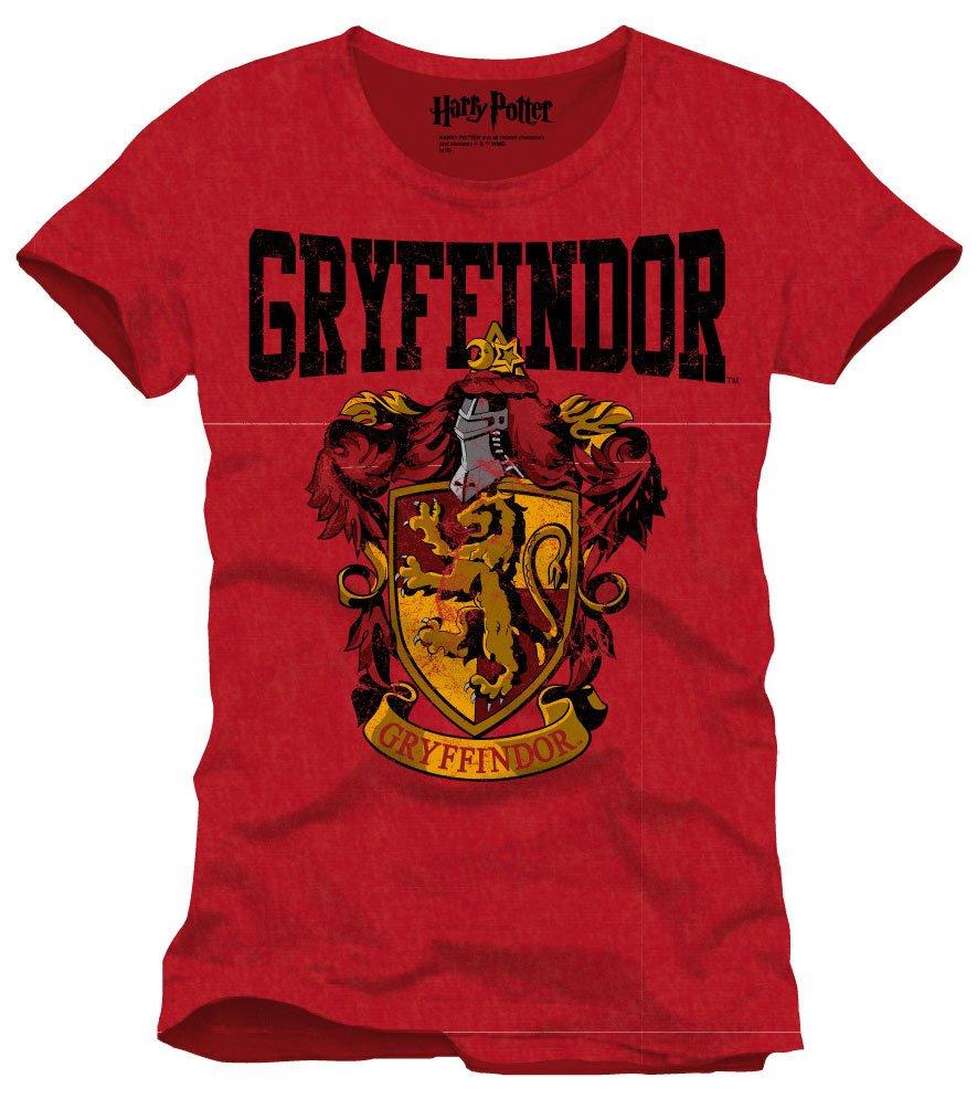 Harry Potter T-Shirt Gryffindor Crest Size S
