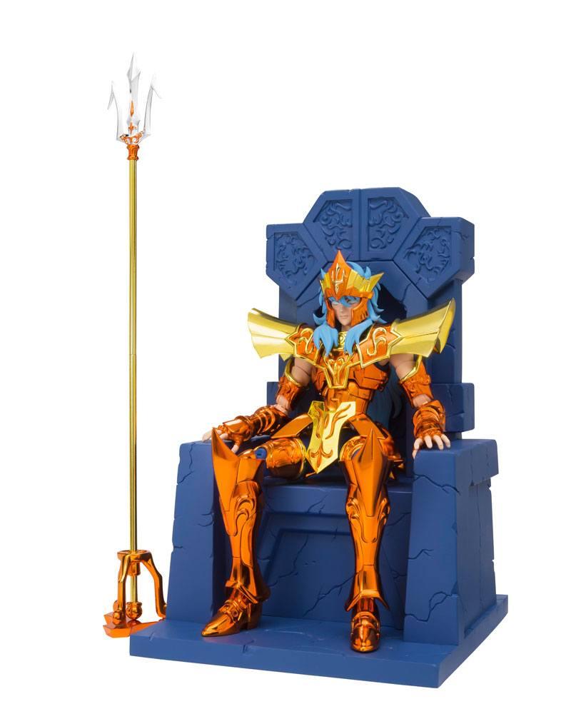 Saint Seiya SCME Action Figure Poseidon Julian Solo Imperial Throne Set 18 cm