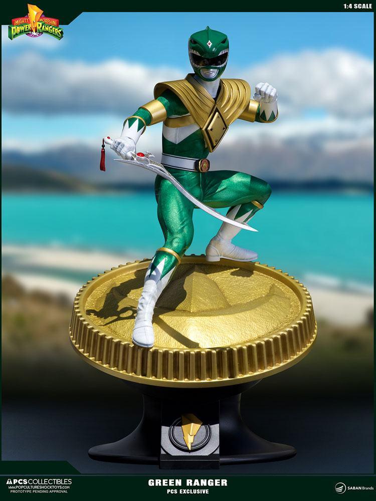 Power Rangers Statue 1/4 Green Ranger PCS Exclusive 58 cm