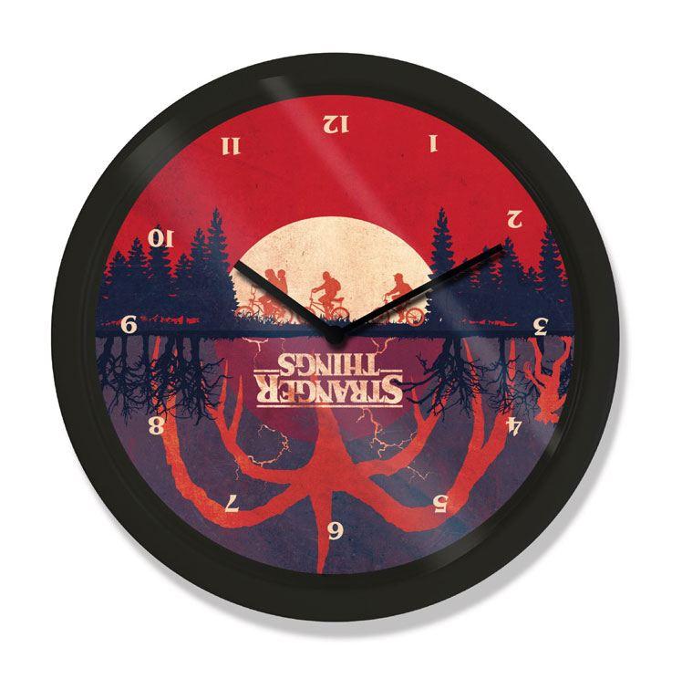 Stranger Things Wall Clock Upside Down