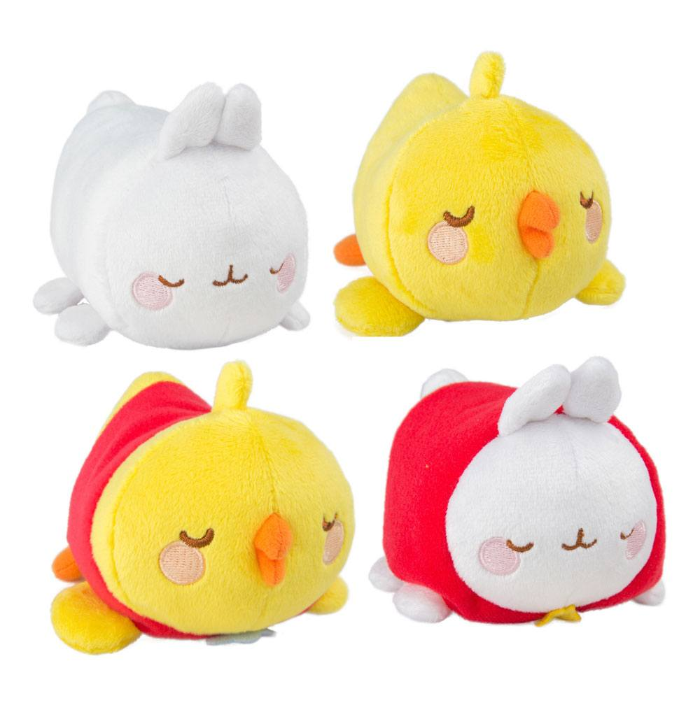 Molang Plush Figures 8 cm Display A1 (16)