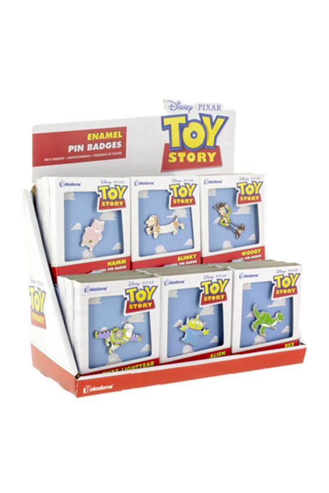 Toy Story Enamel Label Pin Display (18)
