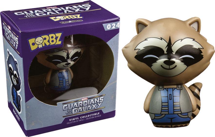 Guardians of the Galaxy Vinyl Sugar Dorbz Vinyl Figure Rocket Raccoon Nova Costume 8 cm