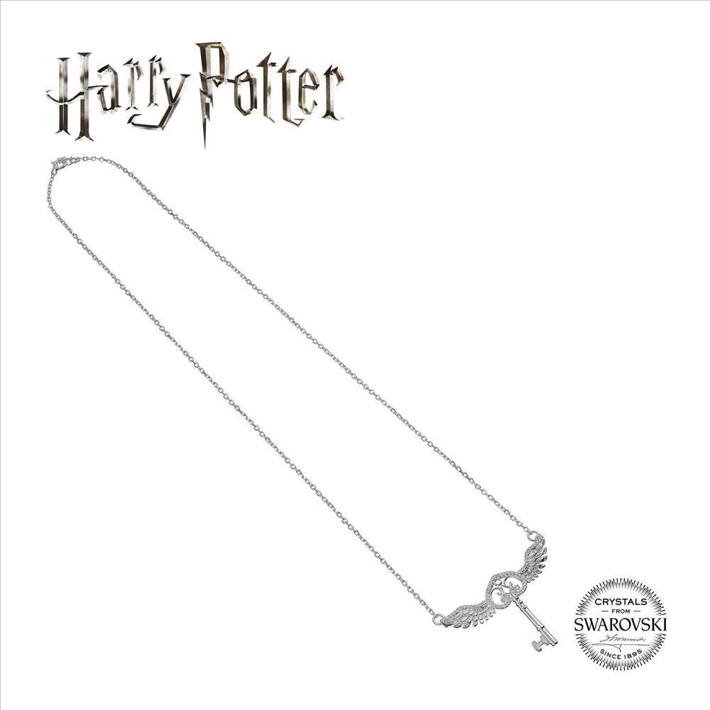 Harry Potter x Swarovksi Necklace & Charm Lightning Flying Key