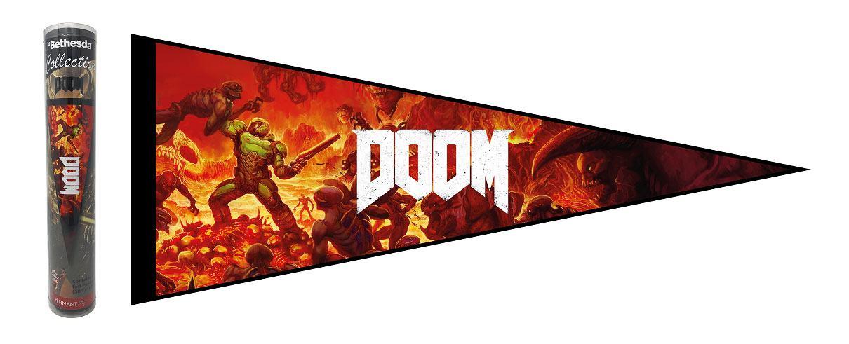 Doom Felt Pennant Key Art