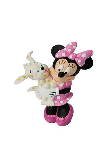 Mickey Mouse Clubhouse Figure Minnie with dog 7 cm