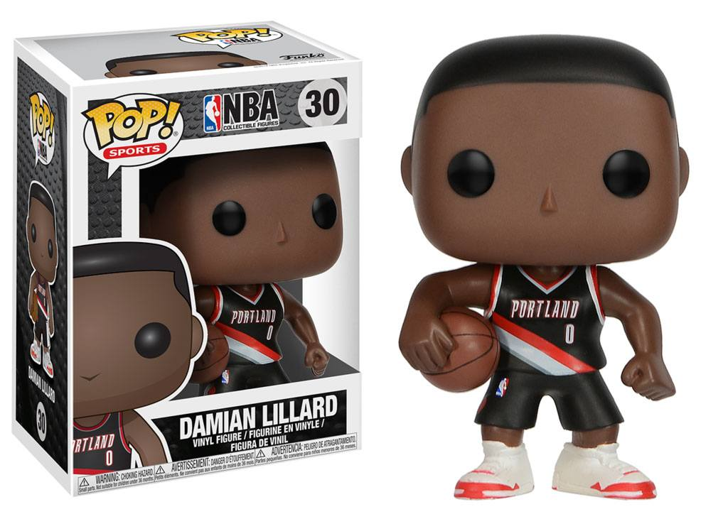 NBA POP! Sports Vinyl Figure Damian Lillard (Portland Trail Blazers) 9 cm