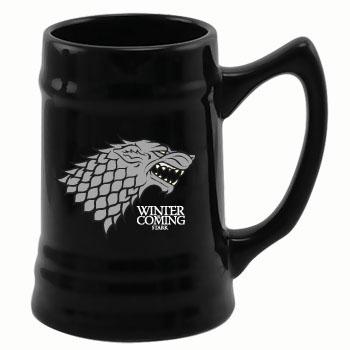 Game of Thrones Stein Black Stark