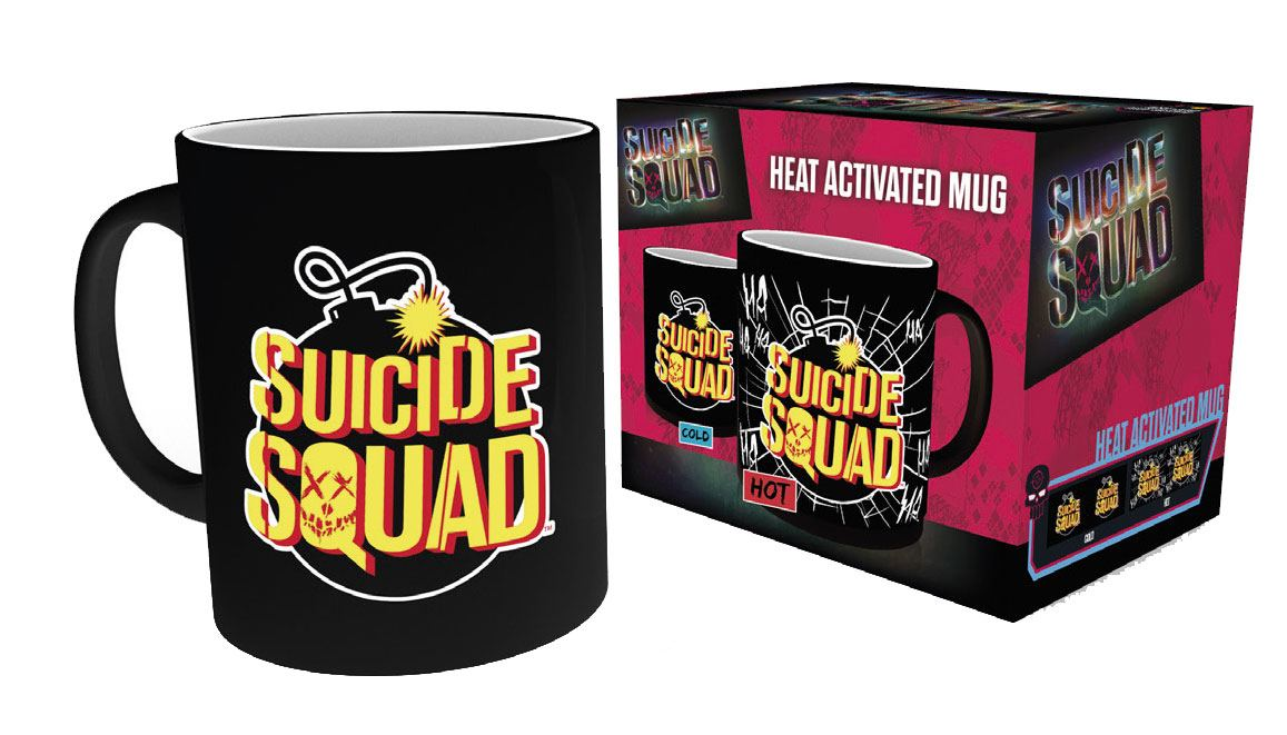 Suicide Squad Heat Change Mug Bomb