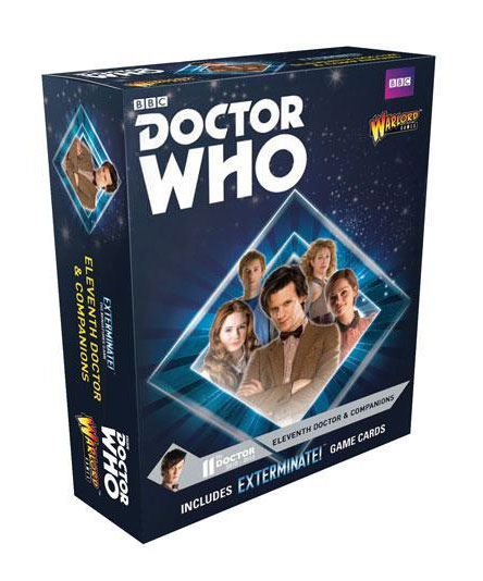 Doctor Who Exterminate! Expansion 11th Doctor and Companions *English Version*