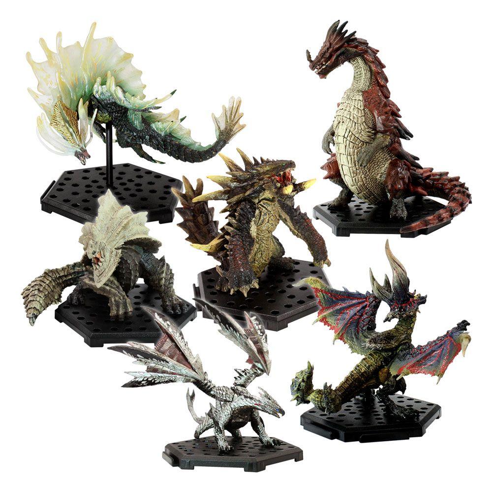 Monster Hunter Trading Figures CFB MH Standard Model Plus THE BEST Vol. 7 & 8 Assortment (6)