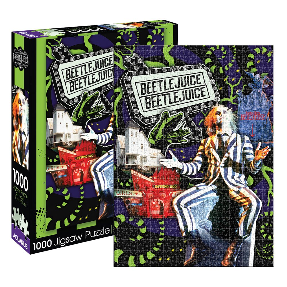 Beetlejuice Jigsaw Puzzle Collage (1000 pieces)
