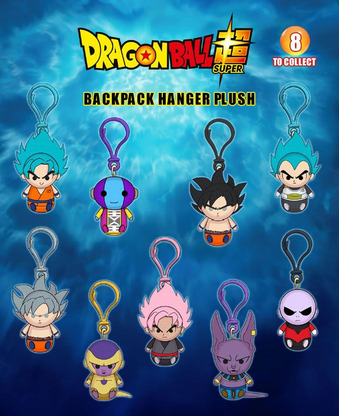 Dragon Ball Super Plush Hangers 8 cm Display (24)