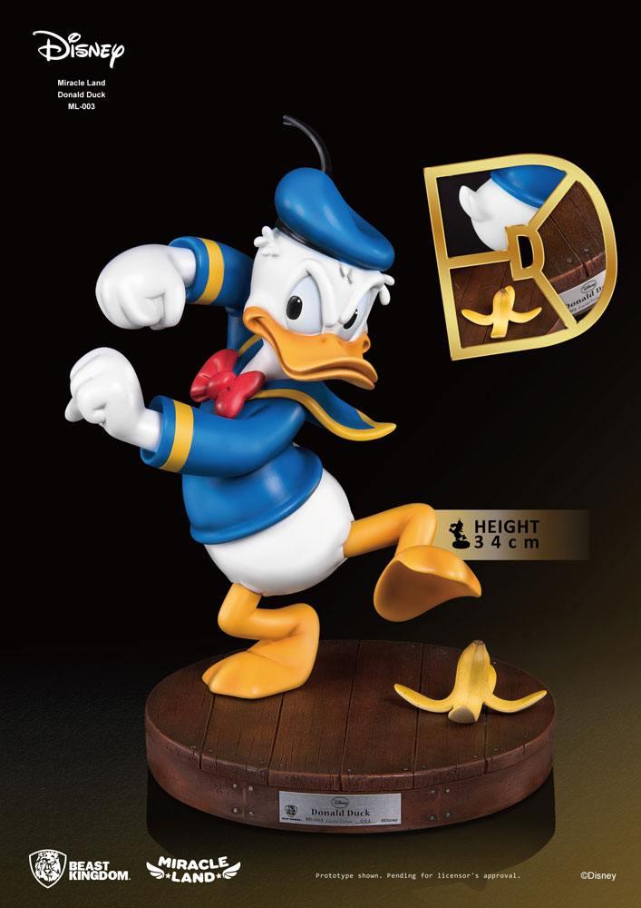 Disney Miracle Land Statue Donald Duck 34 cm