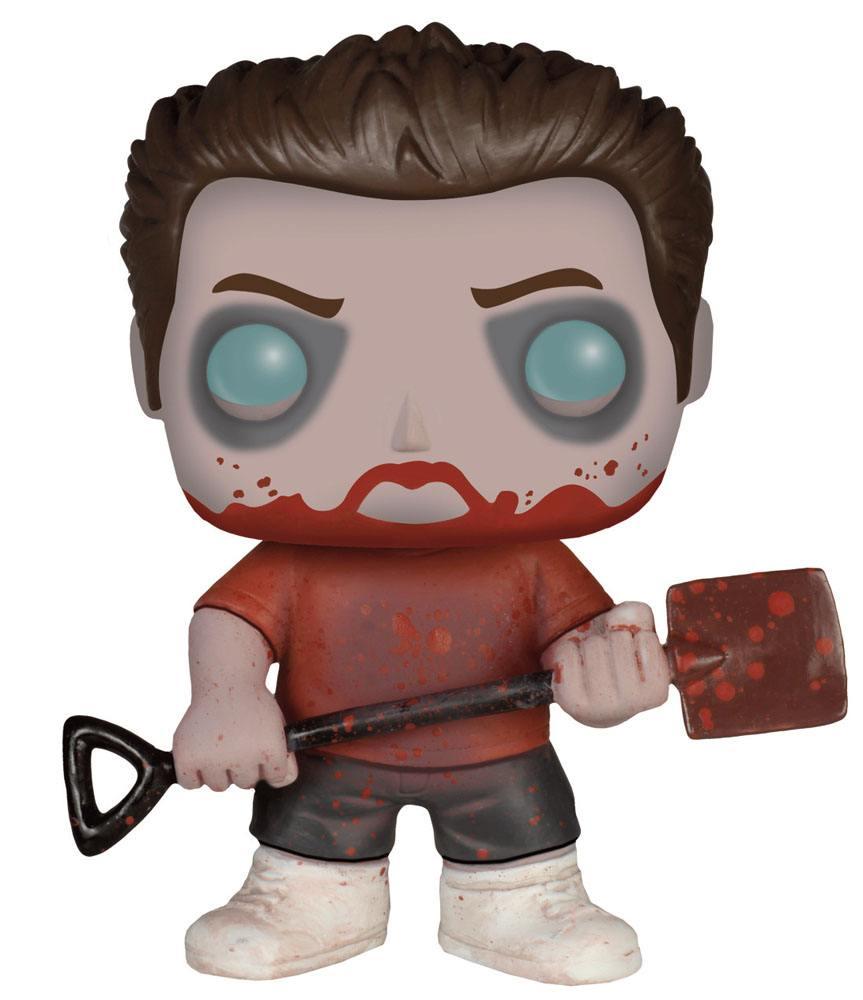 Shaun of the Dead POP! Movies Vinyl Figure Zombie Ed 9 cm
