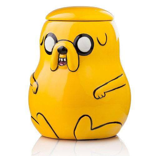 Adventure Time Cookie Jar Jake