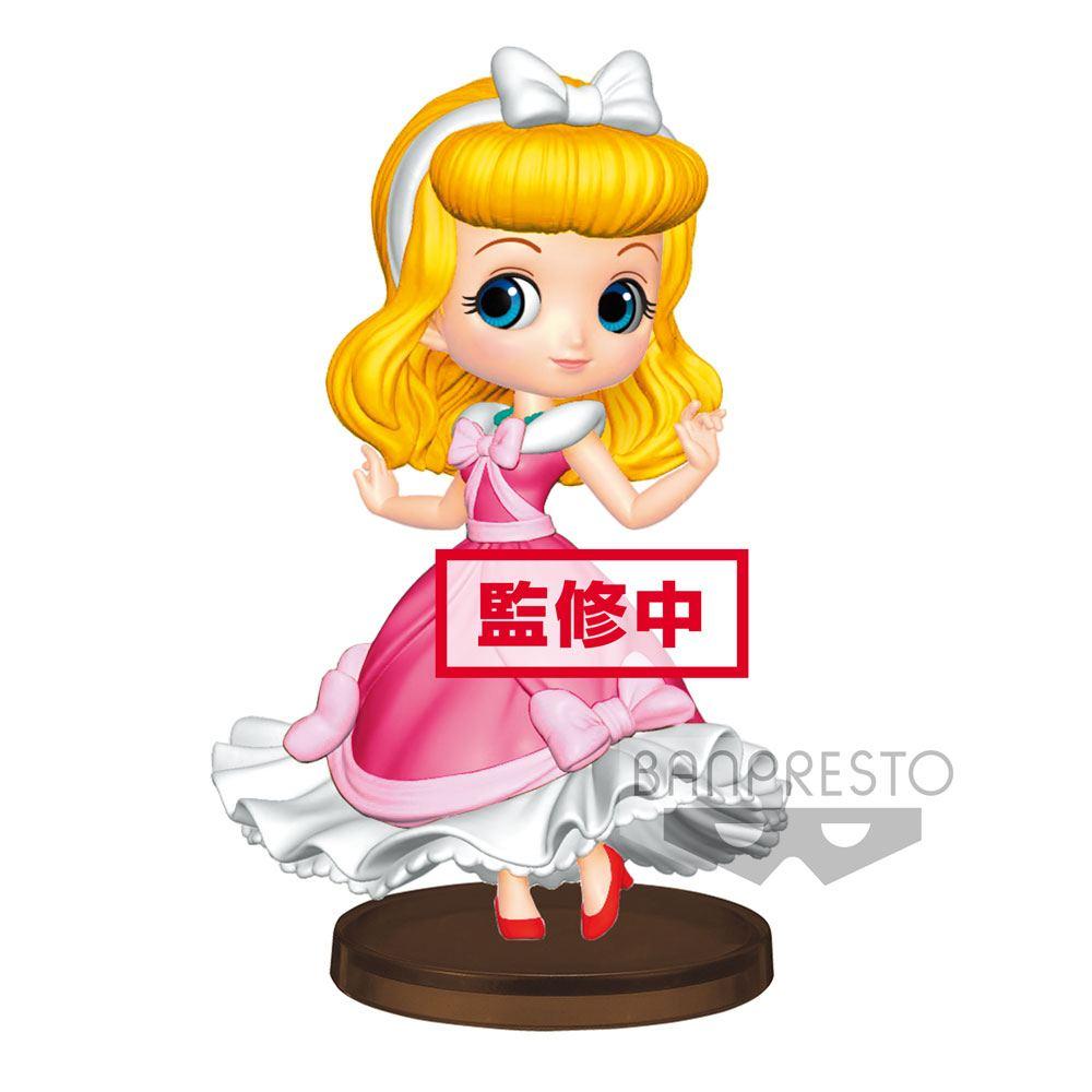 Disney Q Posket Petit Mini Figure Cinderella 7 cm