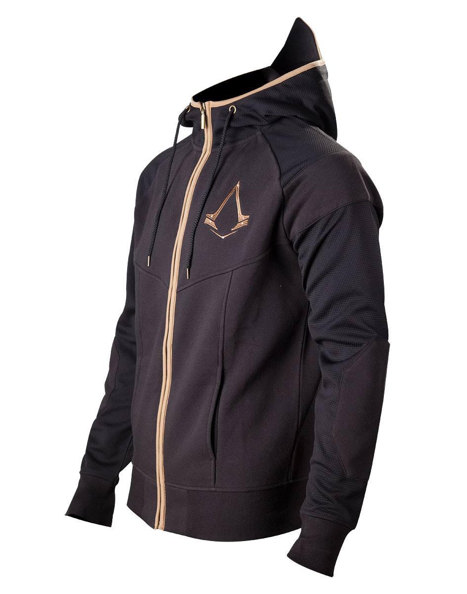 Assassin's Creed Syndicate Zipper Hoodie Bronze Logo Size XL