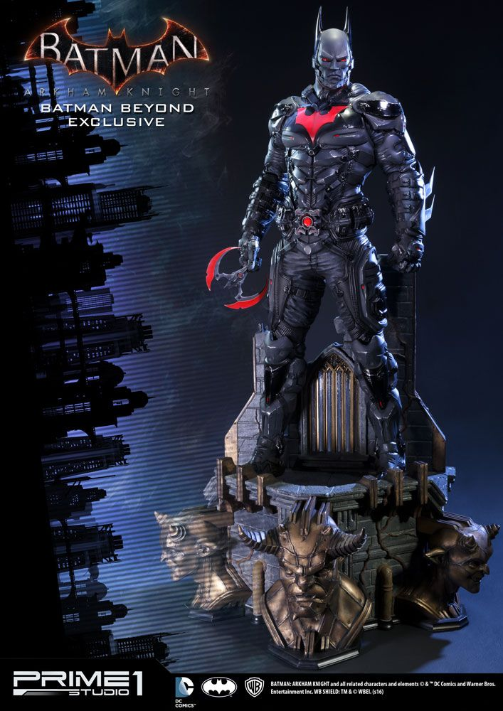 Batman Arkham Knight 1/3 Statue Batman Beyond & Batman Beyond Exclusive 83 cm Assortment (3)
