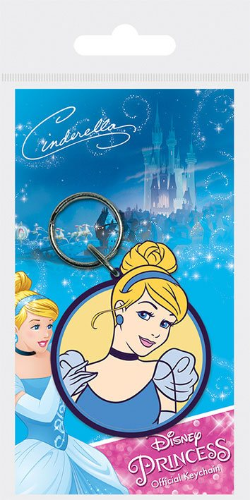 Disney Princess Rubber Keychain Cinderella 6 cm