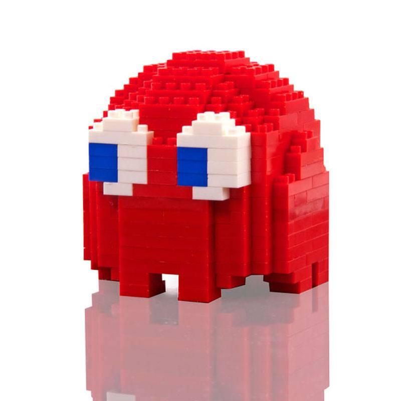Pac-Man Pixel Bricks Ghost