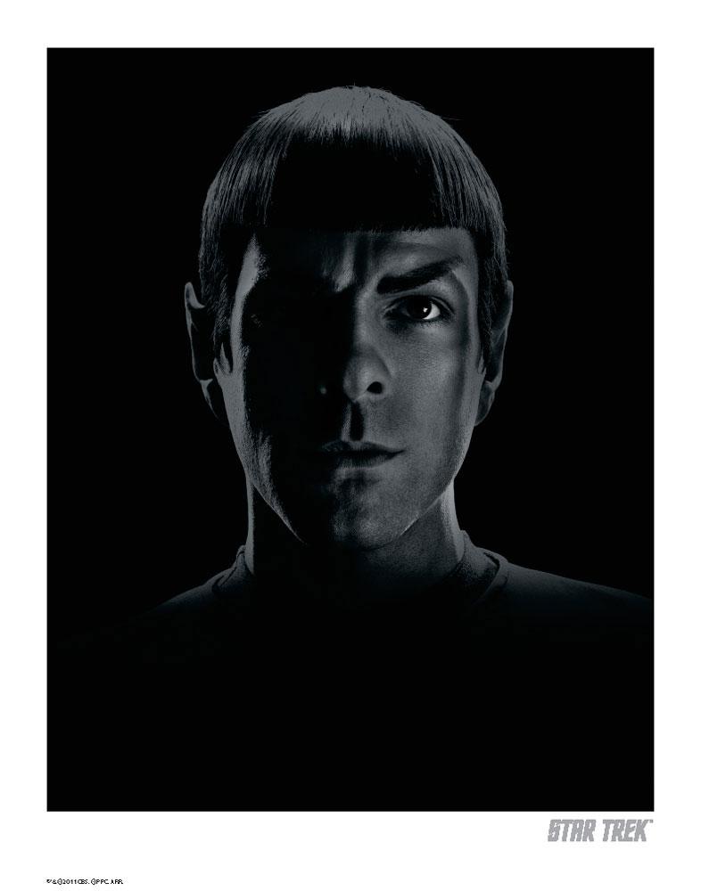 Star Trek Art Print Spock NB 35 x 28 cm