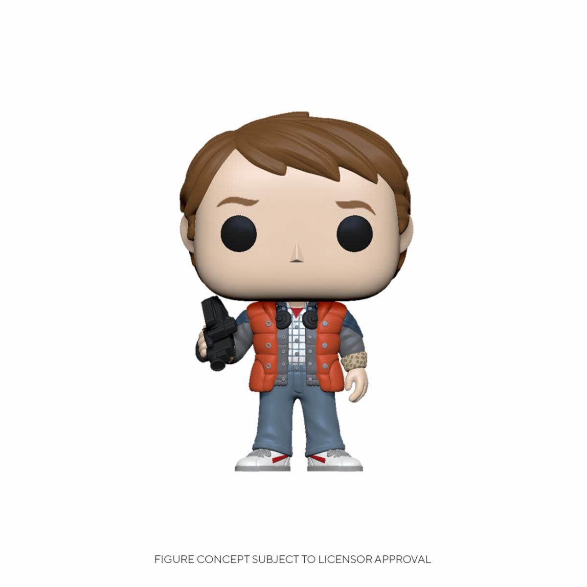 Back to the Future POP! Vinyl Figure Marty in Puffy Vest 9 cm