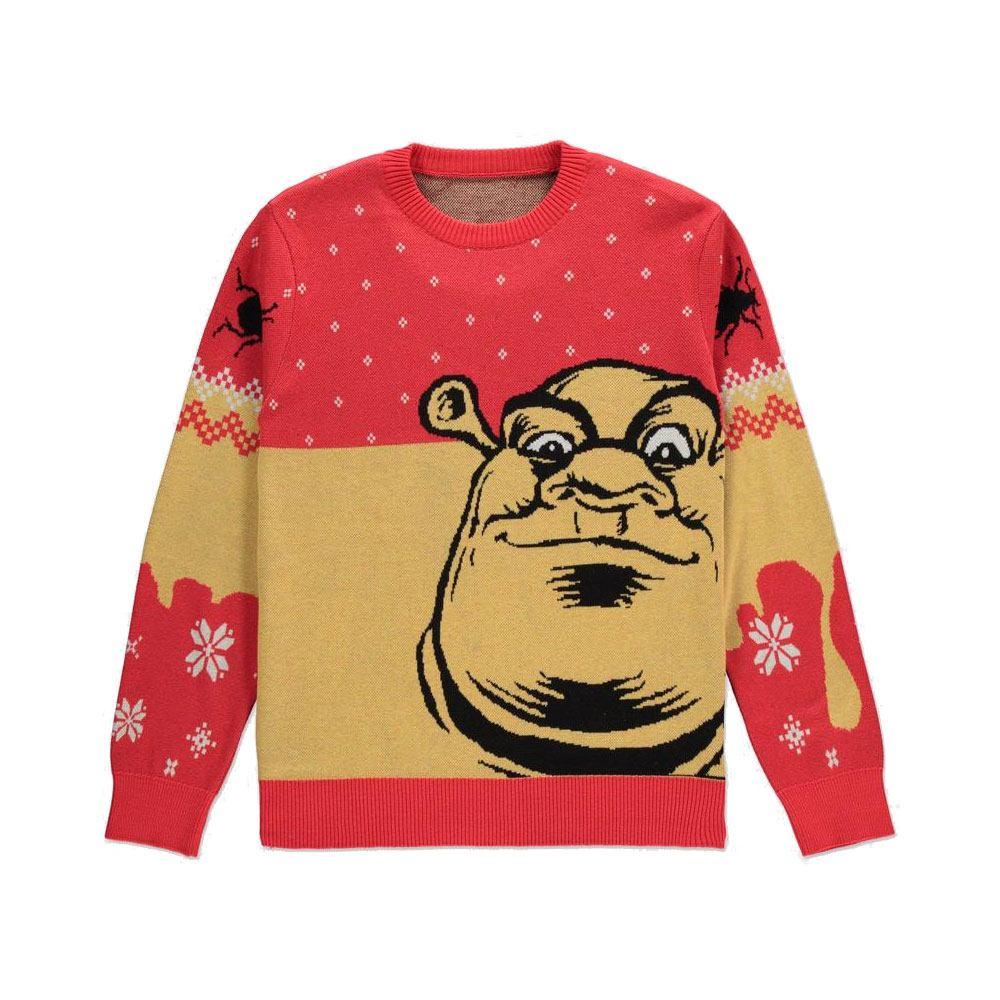 Shrek Knitted Christmas Sweater Ogre Size L