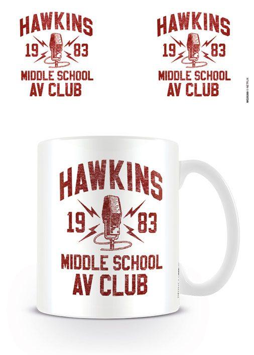 Stranger Things Mug AV Club