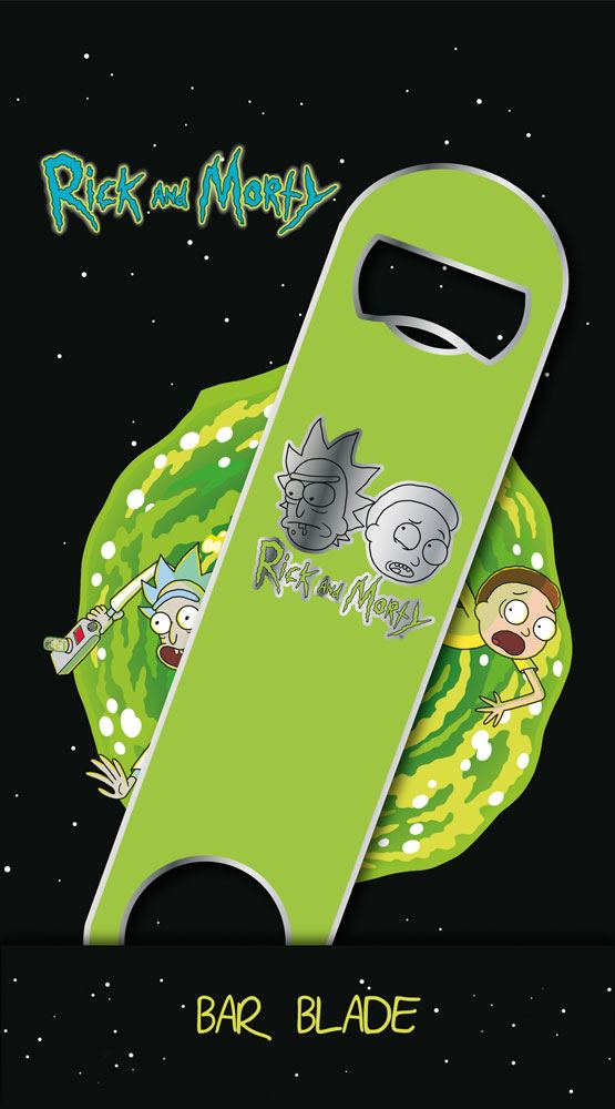 Rick & Morty Bar Blade / Bottle Opener Logo 12 cm