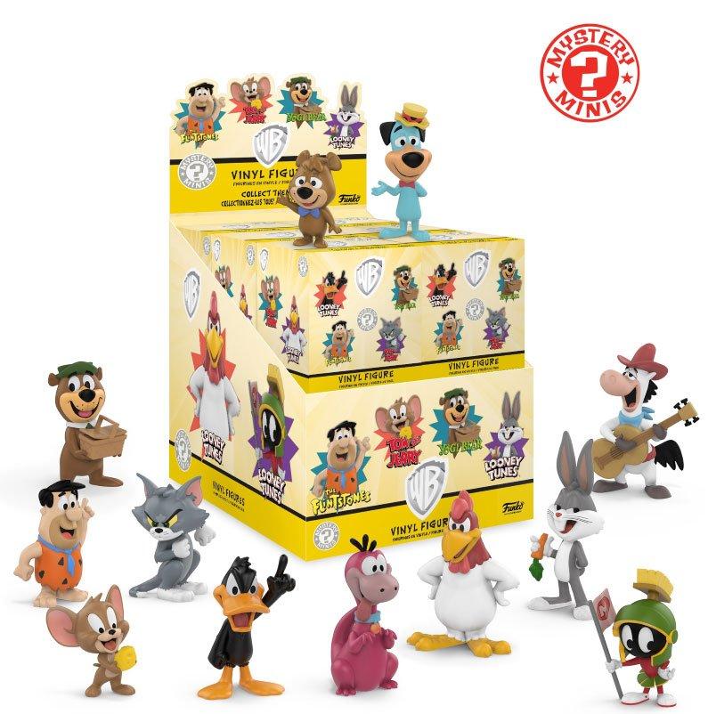 Saturday Morning Cartoons Mystery Minis Vinyl Mini Figures 6 cm Display Classic (12)