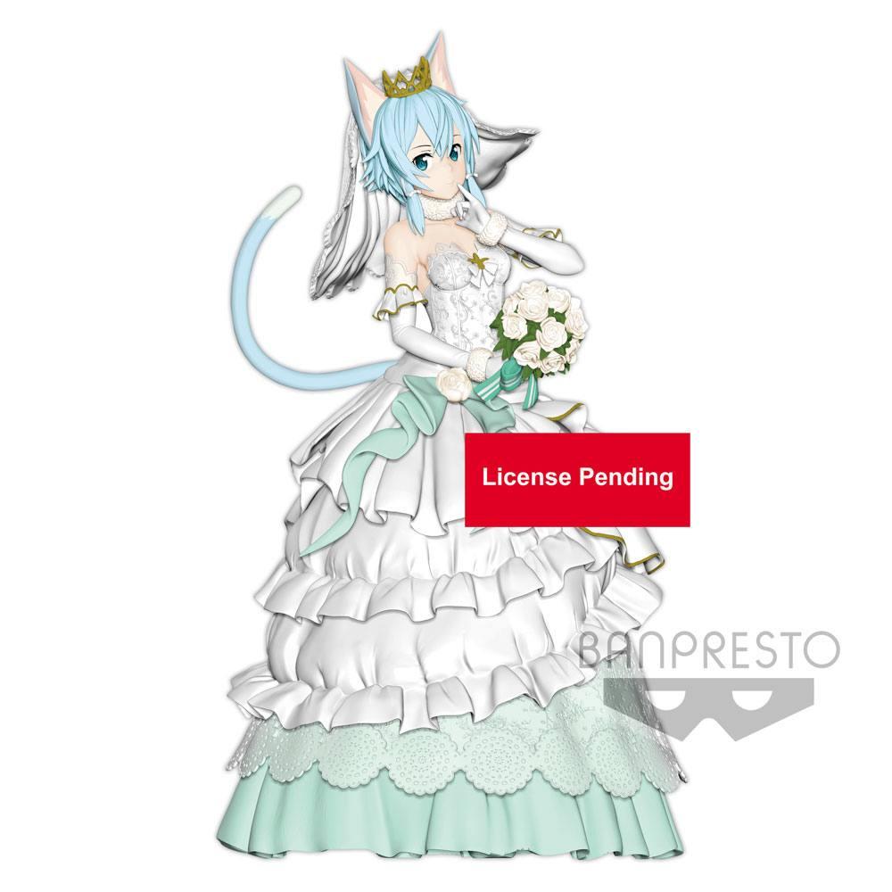 Sword Art Online Code Register EXQ Figure Wedding Sinon 21 cm