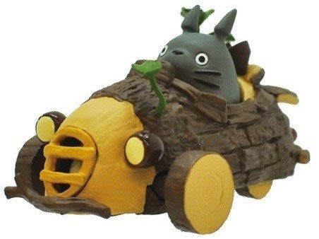 My Neighbor Totoro Pullback Vehicle Threewheeler