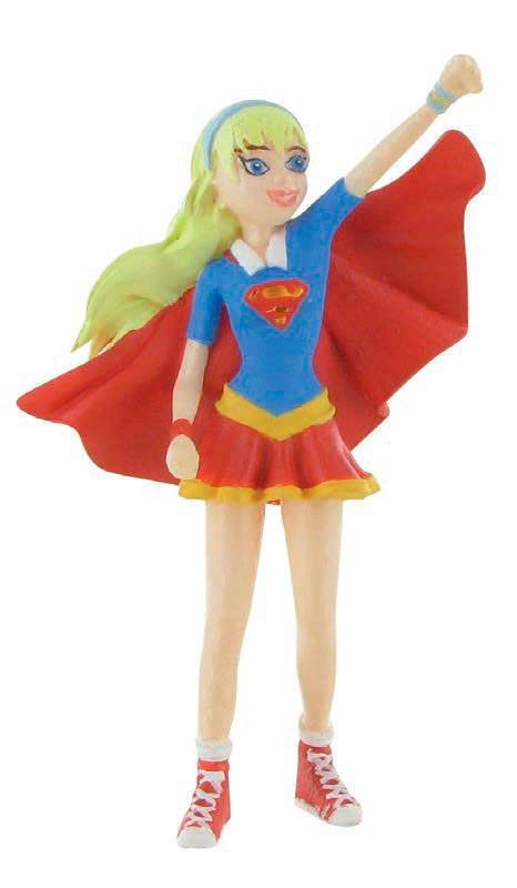 DC Comics Super Hero Girls Mini Figure Super Girl 9 cm