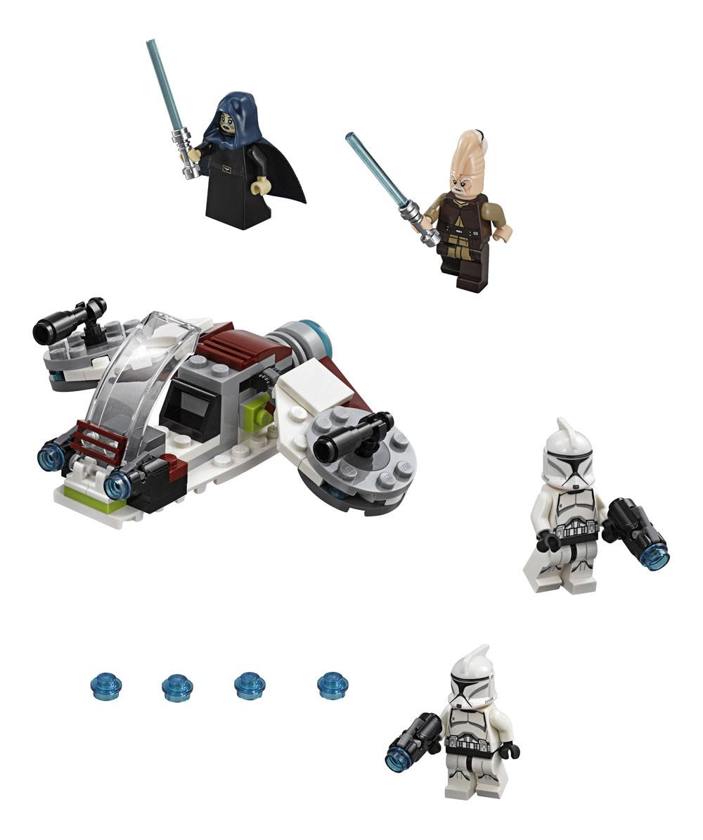 LEGO® Star Wars™ Solo Battle Packs: Jedi™ and Clone Troopers™