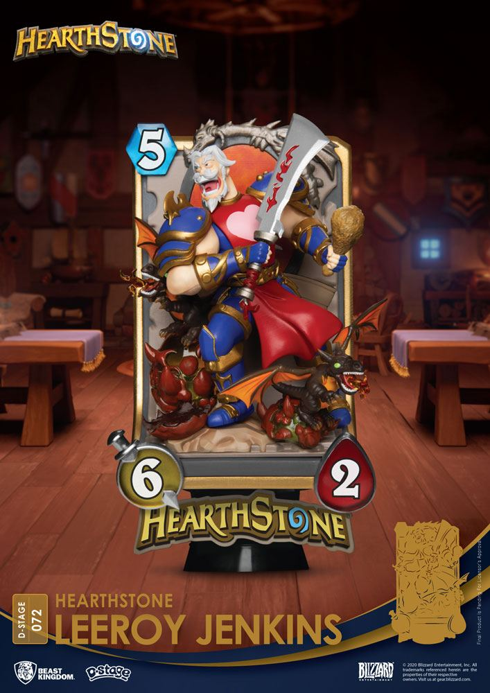 Hearthstone: Heroes of Warcraft D-Stage PVC Diorama Leeroy Jenkins 16 cm